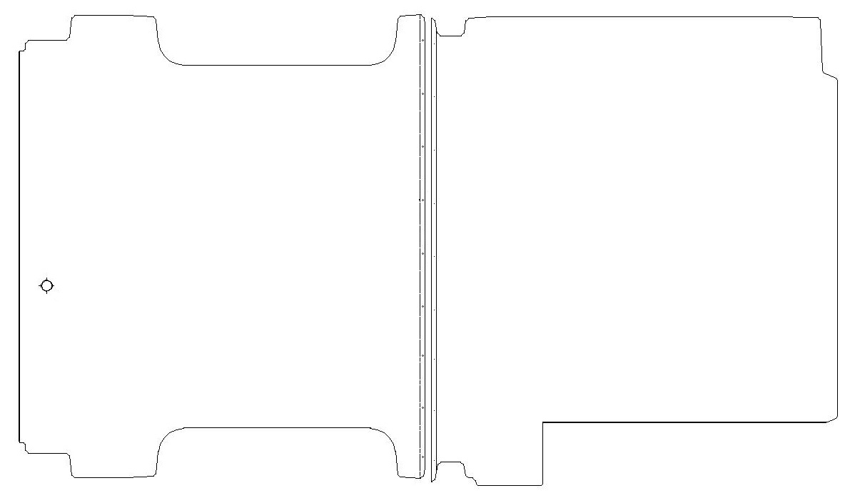 Ford Transit Bodenplatte Siebdruckplatte Mehrschichtholz Boden